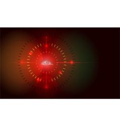 future sight vector image vector image