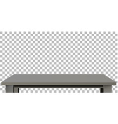 Dark wooden or plastic black tabletop vector