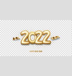 Happy new year 2022 vector