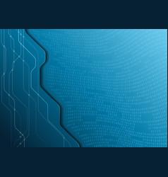 Hi-tech digital communication concept vector