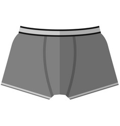 Men underwear flat isolated on white vector