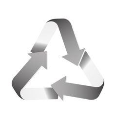 recycle arrows icon image vector image vector image