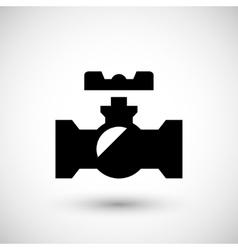 Valve symbol icon vector