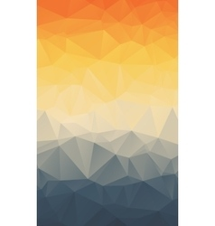 Vertical Polygonal Abstract Wallpaper vector