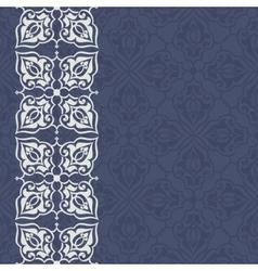 Vintage invitation card vector image vector image