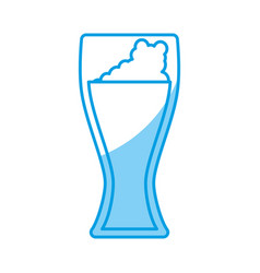 beer glass icon vector image