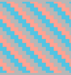 diagonal seamless striped pattern vector image vector image