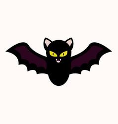 Cartoon bat vector