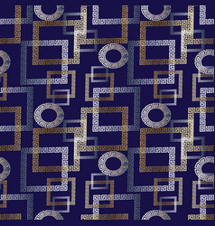check tiled geometric modern seamless pattern vector image