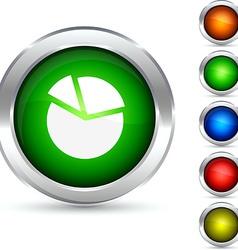Diagram button vector