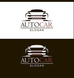 emblems car vector image