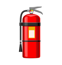 Fire extinguisher iconcartoon icon vector