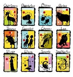 horoscope complete vector image