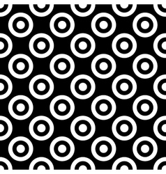 Polka dot geometric seamless pattern 1312 vector image vector image