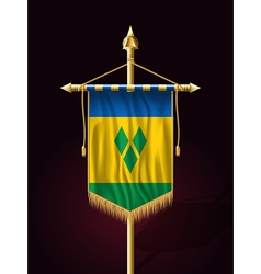 Saint Vincent and the Grenadines Festive Banner vector
