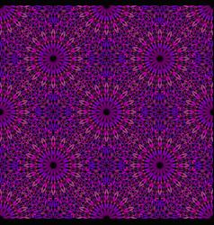 Seamless violet floral pattern background design vector