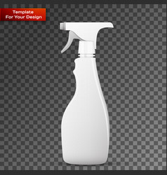 spray pistol cleaner plastic vector image