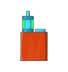 Vaporizer device icon cartoon style vector