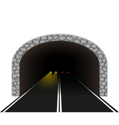 road tunnel 03 vector image