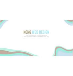 abstract background header website design modern vector image