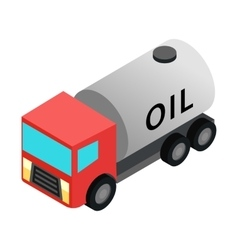 Machine oil isometric 3d icon vector