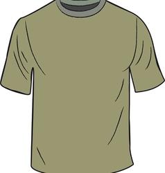 T shirt Design Template vector image