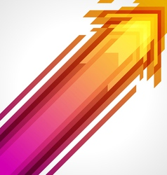 Abstract arrow background vector