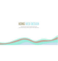 Abstract background header website design style vector