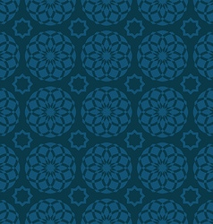 Arabic oriental seamless pattern traditional vector