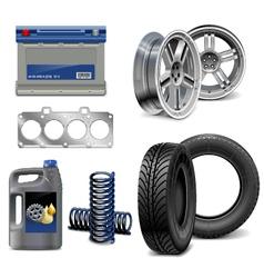 Auto Parts vector