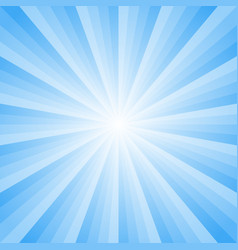 background with light blue rays vector image