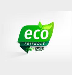 eco friendly loco vector image