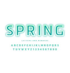 stylish design sans serif letters vector image
