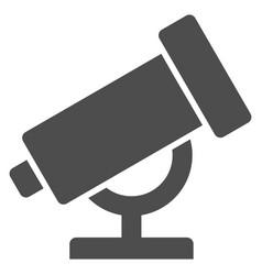 Telescope icon vector