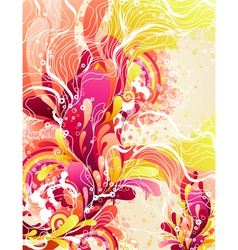 Colorful candies splash vector image vector image