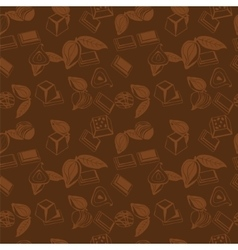 Pattern of Sweet Food vector image