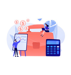 Accounting concept vector