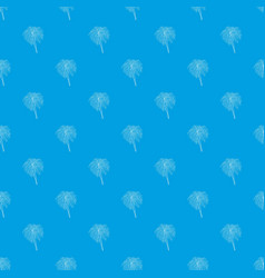bengal fire pattern seamless blue vector image