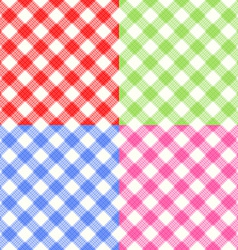 Checkerboard Tablecloth Seamless Pattern vector
