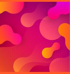 liquid dynamic background vector image