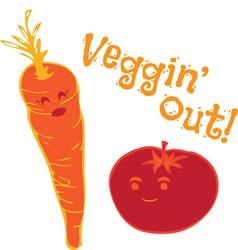 Veggin Out vector