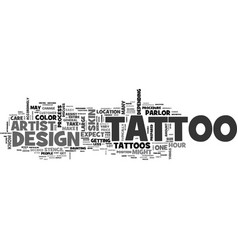 What to expect when you get your tattoo text word vector