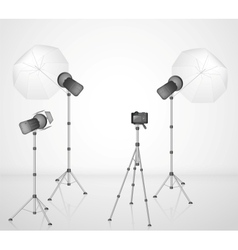 Photo studio vector image vector image