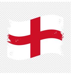 England country brush flag design vector