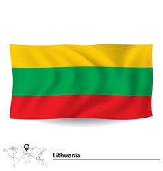 Flag of Lithuania vector