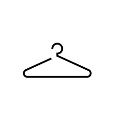 Hanger icon design template isolated vector