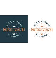 sports logo vector image
