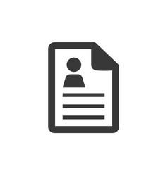 Text-lines document icon - text-lines document vector
