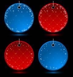 celebration labels vector image