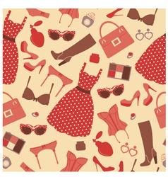 Fashion pattern vector image